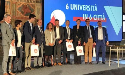 Sastank 6 sveučilišta u 6 gradova u Padovi