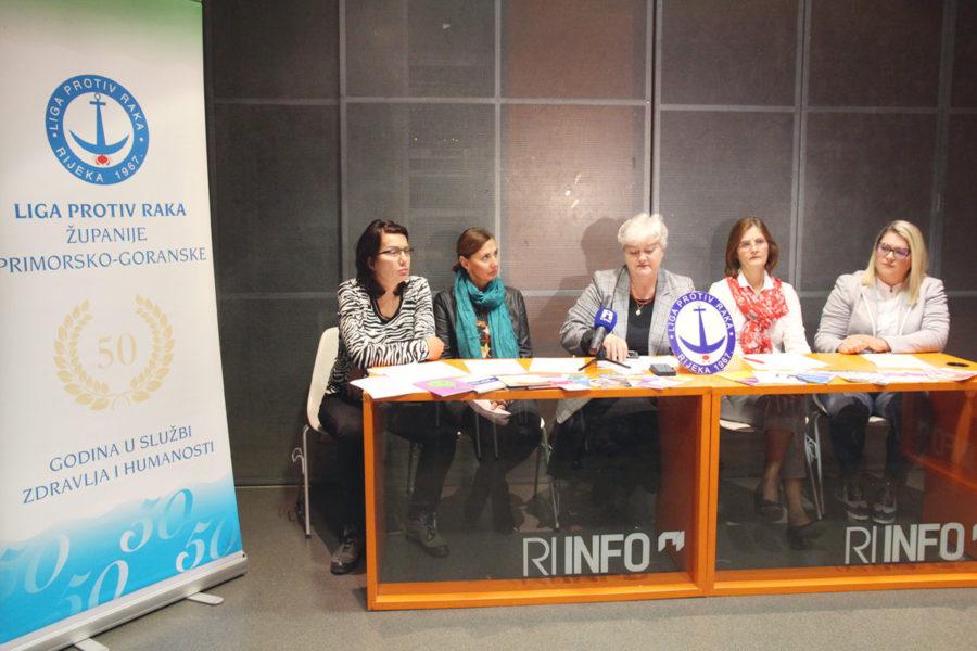Liga protiv raka Primorsko-goranske županije, Studeni 2019 - mjesec protiv borbe raka