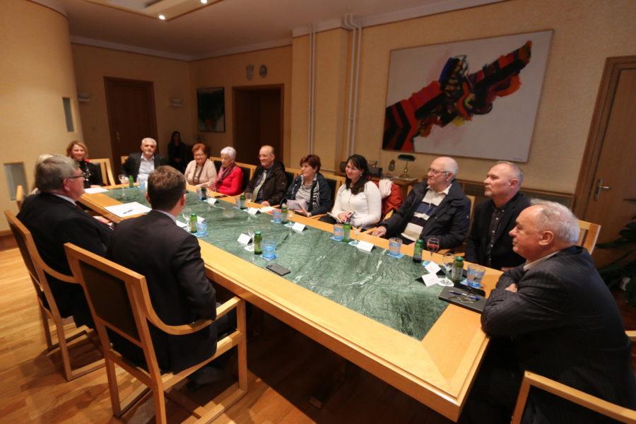 Održan prijem za nove predsjednike vijeća nacionalnih manjina Grada Rijeke