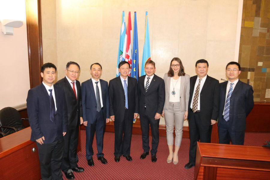 Održan sastanak s delegacijom kineskog grada Daliana