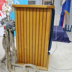 Potpisivanje ugovora između Grada Rijeke i brodogradilišta Dalmont za obnovu broda Galeb