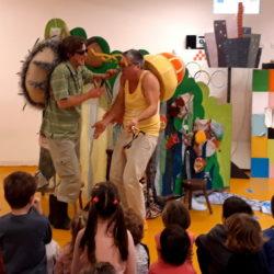 Predstava Eko patrola u dječjem vrtiću Drenova