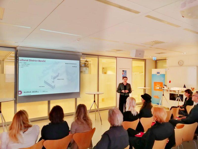 Predstavljanje EPK 2020 u Stockholmu - Irena Kregar Šegota