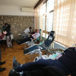Gradonačelnik Obersnel darovao krv