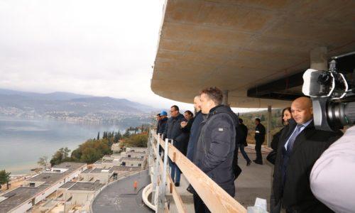 Obilazak gradilišta turističkog kompleksa Costabella