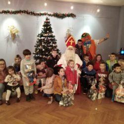 Sv. Nikola i djeca sa Sv. Kuzma