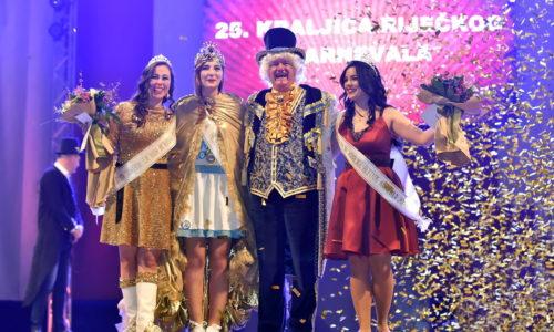 Dora Pilepić, Meštar Toni i pratilje Kraljice Riječkog karnevala