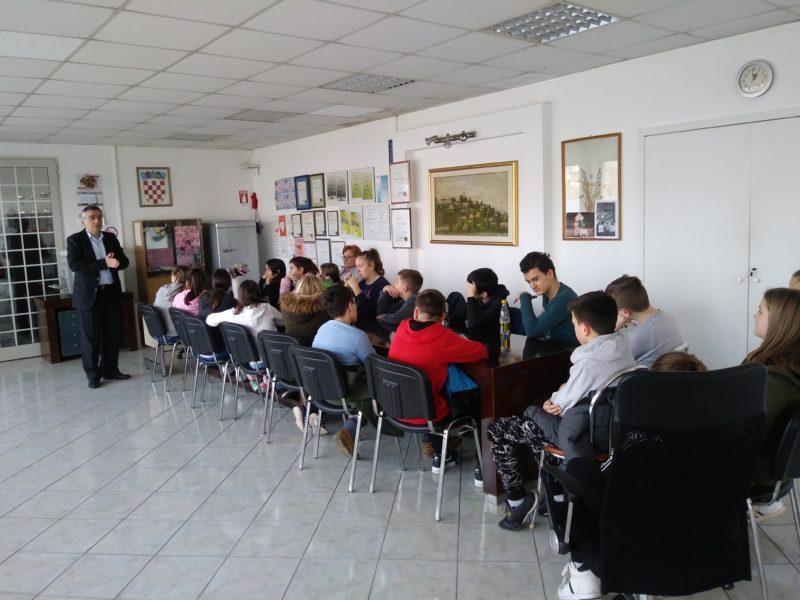 Građanski odgoj-predavanje u MO Gornja Vežica