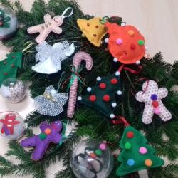 Kreativna radionica- božićni ukrasi