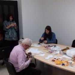 Kreativna radionica- izrada božićnih ukrasa