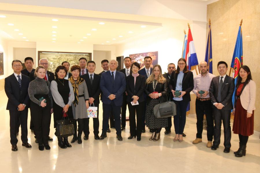 Održan sastanak s poslovnim izaslanstvom kineskog grada Daliana