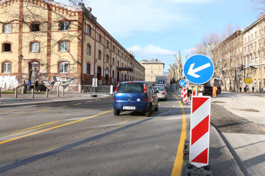 Preregulacija prometa na Brajdi