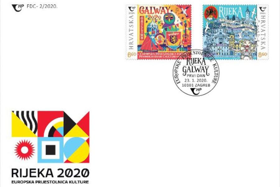 Prigodna kuverta Hrvatske pošte