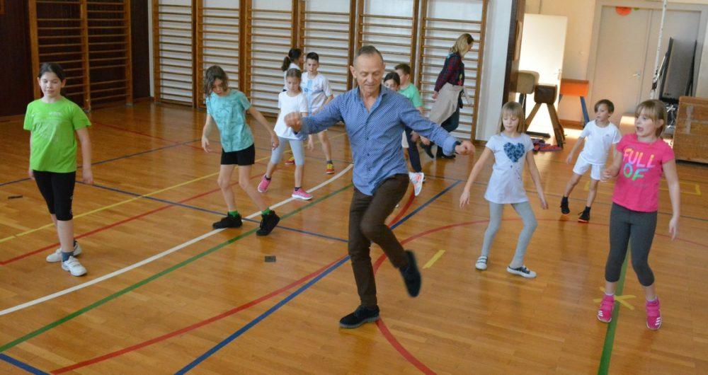 Projekt Rijeka pleše u riječkim osnovnim školama