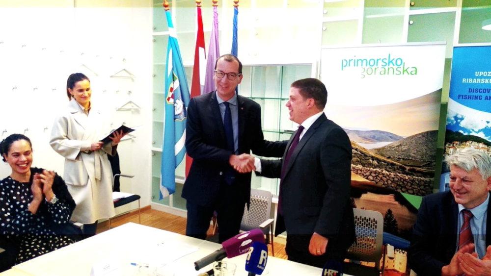 Potpis Ugovora i Sporazuma o sufinanciranju lučkih infrastrukturnih projekata na području Primorsko-goranske i Istarske županije