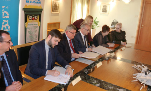 Potpisivanje ugovora Sortirnica i obilazak Riperaja