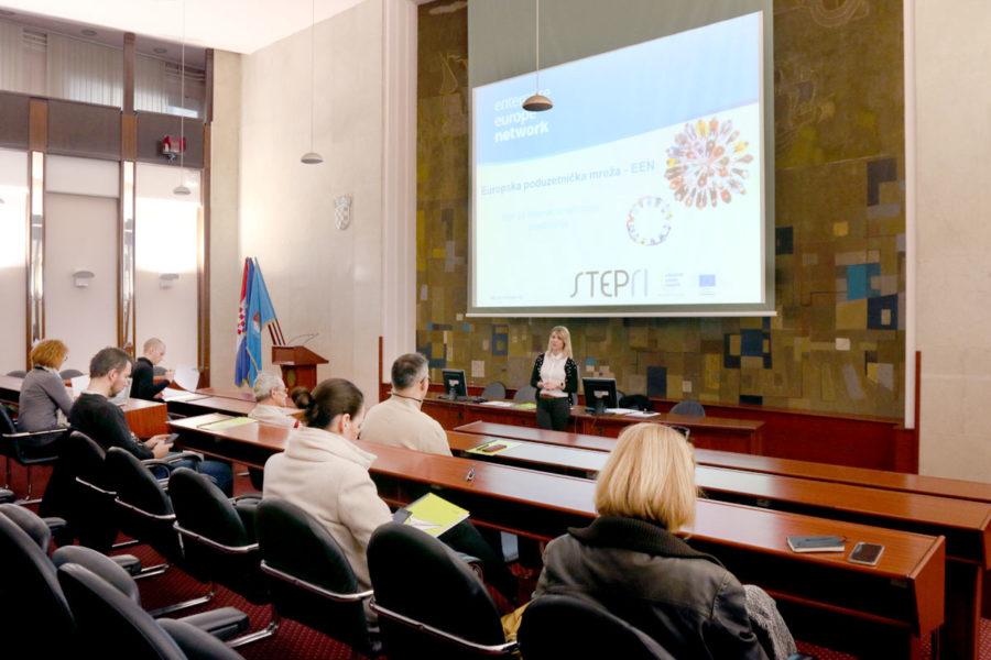 Step Ri održao prezentaciju Europske poduzetničke mreže