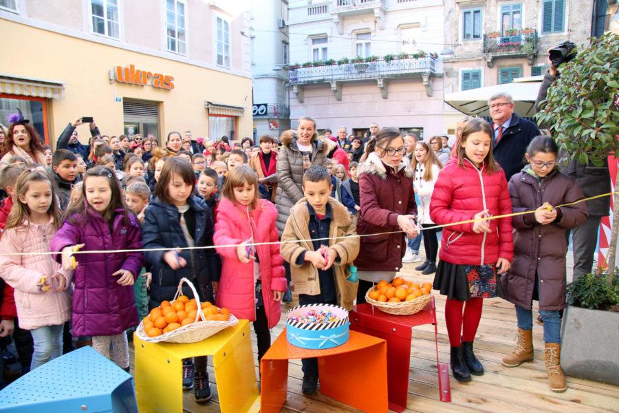 Završen projekt Trg svete Barbare djeci