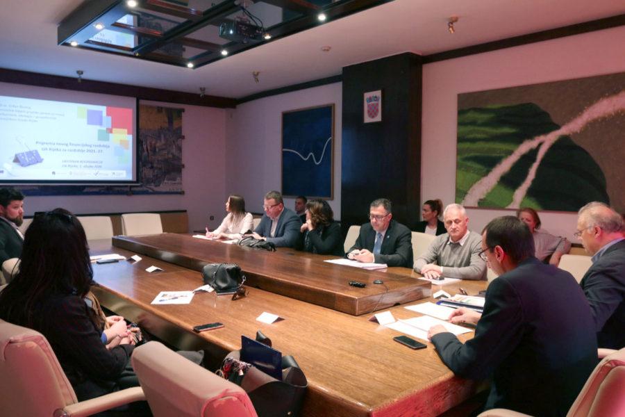 Održana 15. sjednica Koordinacije za izradu i provedbu Strategije Urbane aglomeracije Rijeka 2014.-2020. godine