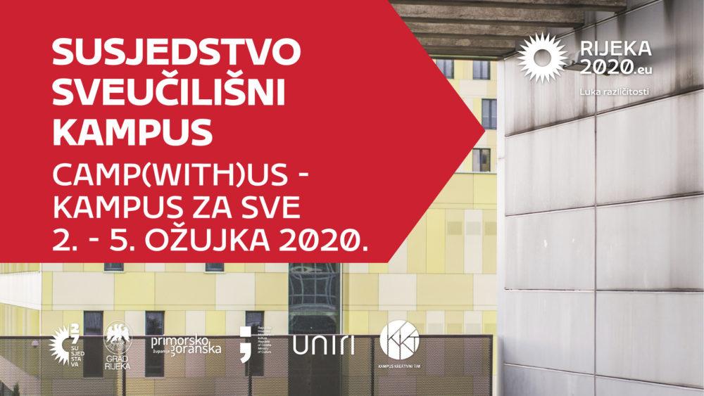 Festival Kampus za sve banner - 27 susjedstava - EPK