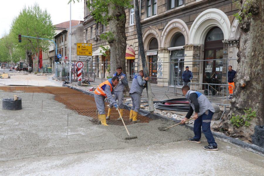 Izgradnja 1.100 metara dugog transportnog kanalizacijskog kolektora u Krešimirovoj ulici