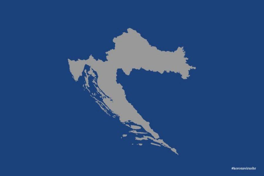 Karta Hrvatske (autor: koronavirus.hr)