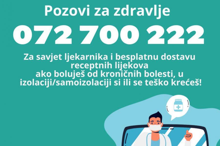 Pozovi za zdravlje