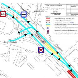 Prometovanje autobusa 3 faza etapa A - radovi u Krešimirovoj ulici