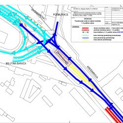 Prometovanje vozila 3 faza etapa A - radovi u Krešimirovoj ulici