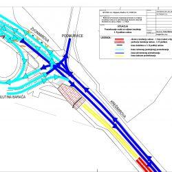 Prometovanje vozila 3 faza etapa B - radovi u Krešimirovoj ulici