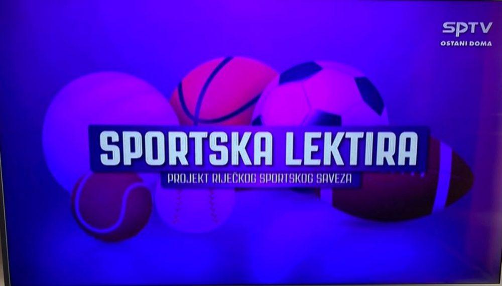 Sportska lektira na Sportskoj televiziji