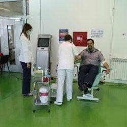 Dobrovoljnim davanjem krvi vatrogasci obilježavaju svoj dan blagdan svetog Florijana
