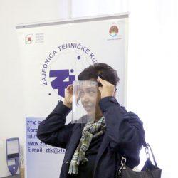 Predstavljena izrada zaštitnih medicinskih vizira za lice u STEM laboratoriju