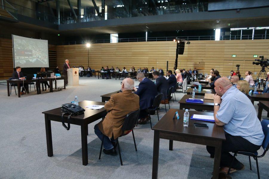 Sjednica Gradskog vijeća svibanj 2020 u Centru Zamet