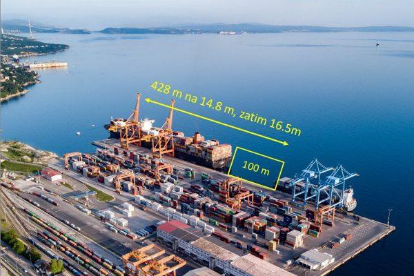 Projekt produbljavanja Kostrenskog pristaništa