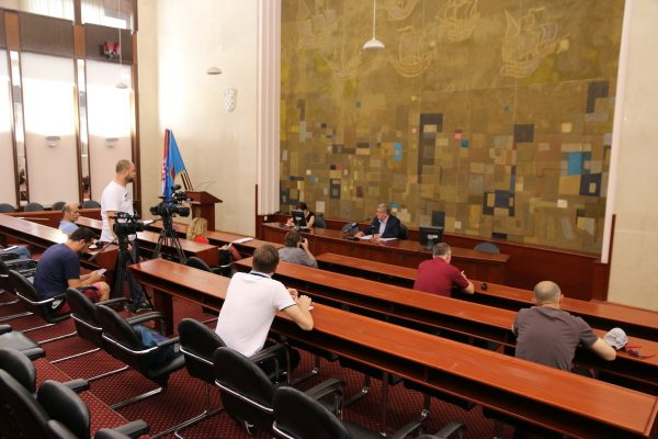 Gradonačelnik Obersnel govorio o posljedicama koronavirusa na život u Rijeci