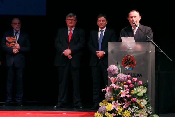 Dobitnik Nagrade Grada Rijeke za životno djelo prof. dr. sc. Anton Škrobonja