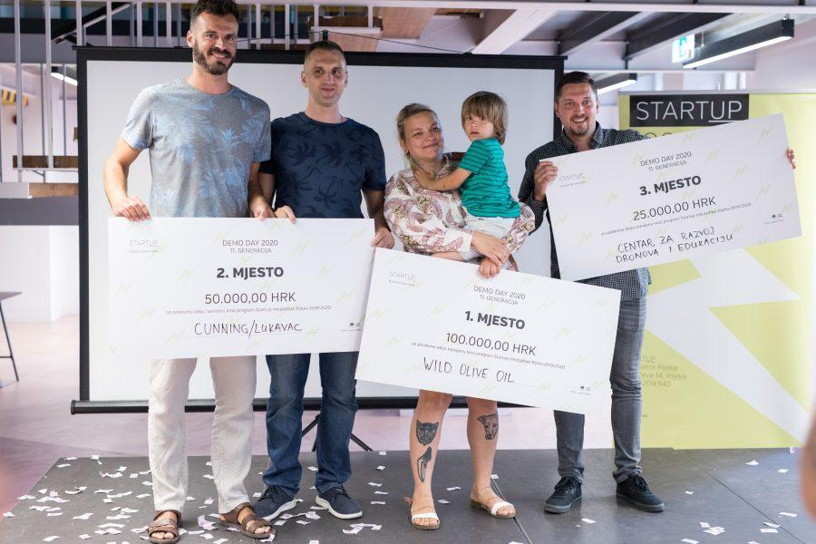 Pobjednički timovi 11. generacije Startup inkubatora