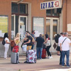 Dolazak prvog vlaka iz Češke sa gostima