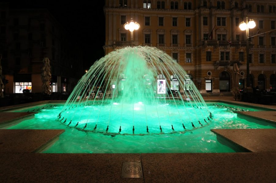 Fontane u zelenom