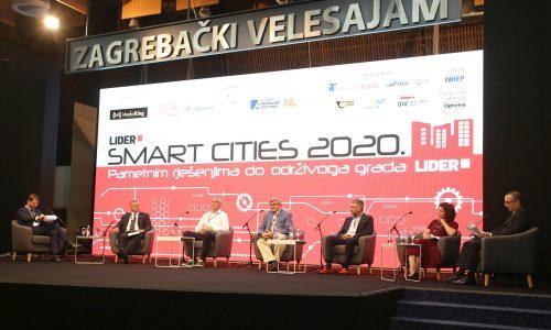 Foto: Ratko Mavar - SMART CITIES 2020 Tin Bašić, Željko Turk, Damir Mandić, Vojko Obersnel, Boris Miletić, Mirka Jozić i Dario Runtić