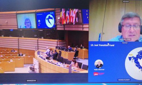 Obersnel u ime Odbora regija EU o izdvajanju u Fond za pravednu tranziciju