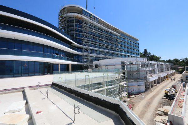 Obilazak gradilišta hotela Hilton