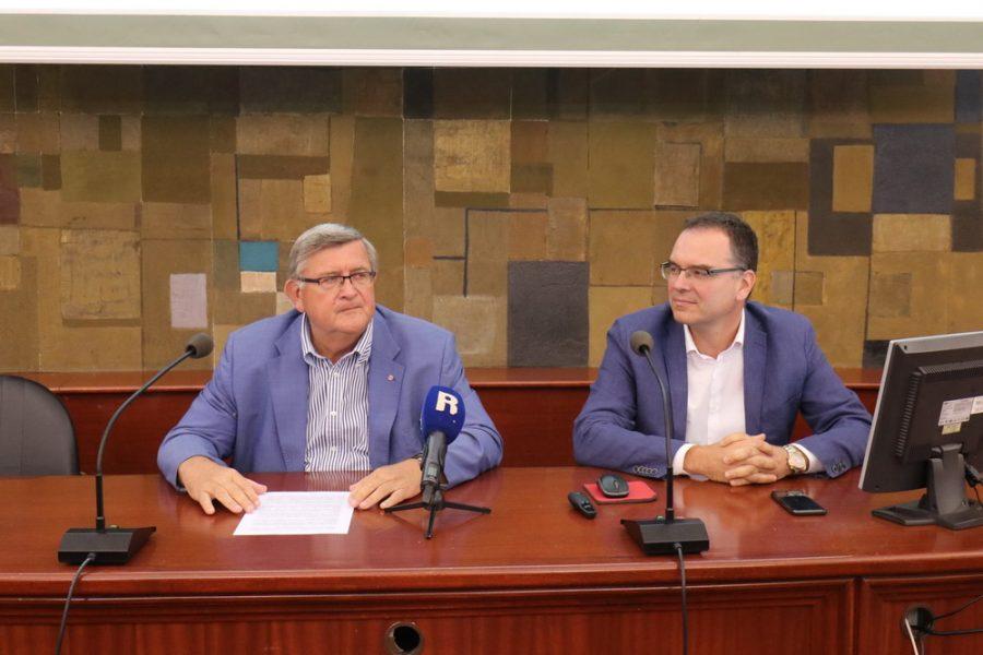 Vojko Obersnel i Željko Jurić