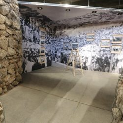 Detalj prostora izložbe Fiume fantastika