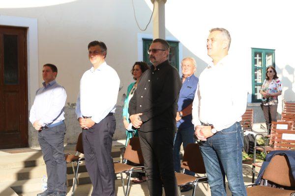 Proslavi prisustovali i premijer Plenković, ministar Butković te zamjenik riječkog gradonačelnika Ivaniš