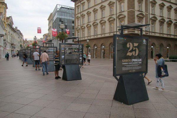 Otvorenje izložbe 25 godina kasnije