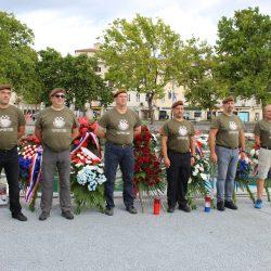Polaganjem vijenaca za Dan pobjede i domovinske zahvalnosti i Dan hrvatskih branitelja