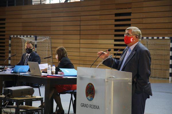 Gradonačelnik Obersnel odgovara na pitanja vijećnika na Aktualnom satu