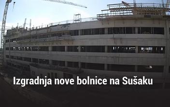 Rijeka gradilište nove bolnice na Sušaku